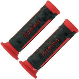 【メーカー在庫あり】 ドミノ domino グリップ オンロード ツーリスモ 121mm 黒/赤 左右セット A35041C4270 JP店
