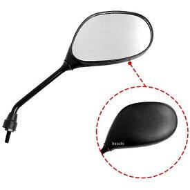【メーカー在庫あり】 ミラックス MIRAX 楕円ミラー 逆ネジ10mm 右側 黒 MIRAX19 JP店