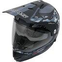 4560385765735 ウインズ WINS オフロードヘルメット X-ROAD FREE RIDE マットカモグレー Mサイズ(57-58cm)