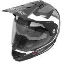 【メーカー在庫あり】 4560385765421 ウインズ WINS オフロードヘルメット X-ROAD FREE RIDE マットブラック/白 XLサイズ(59-60cm)