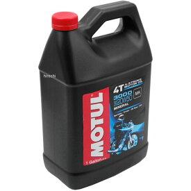 【即納】 モチュール MOTUL 3000 鉱物油 4スト エンジンオイル 20W50 1ガロン(3.8L) MOT40 JP店