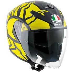 【メーカー在庫あり】 113190G0-004-S エージーブイ AGV ジェットヘルメット K-5 JET TOP WINTER TEST 2011 アジアフィット Sサイズ(55-56cm) 113190G0-009-S JP店