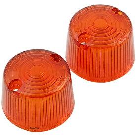 【即納】 シージーシー CGC ウインカーレンズ 160、180、190 丸型用 オレンジ 2個入り 21360 JP店
