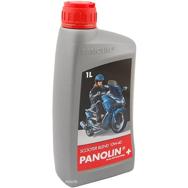 【メーカー在庫あり】 7640125292510 パノリン PANOLIN 4ST エンジンオイル ブレンド スクーター 10W-40 1リットル