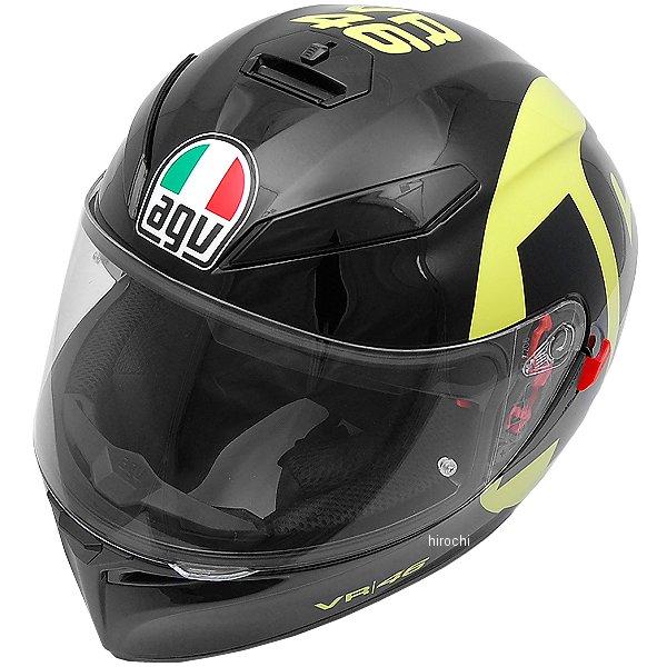 【メーカー在庫あり】 エージーブイ AGV フルフェイスヘルメット K-3 SV TOP BOLLO 46 黒/黄 Sサイズ (55-56cm) 030190E0-005-S JP