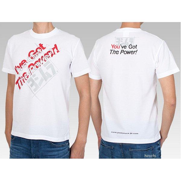 ヨシムラ Tシャツ I've Got The Power! 白 Sサイズ 900-217-410S JP店