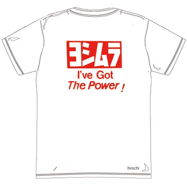 ヨシムラ ドライ チームTシャツ 白 XLサイズ 900-217-91XL JP店