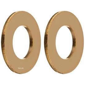 【メーカー在庫あり】 ポッシュ POSH 平ワッシャー 汎用 24Kメッキ ステンレス M6 ゴールド 2個入り 810690-06 JP店