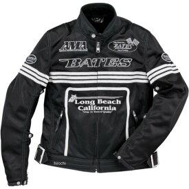 ベイツ BATES 春夏 2Wayメッシュジャケット 黒 XXLサイズ BJ-M1812RS JP店