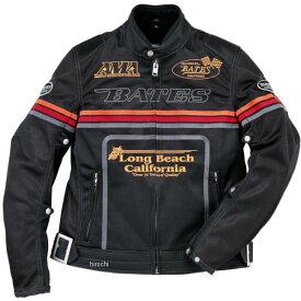 ベイツ BATES 春夏 2Wayメッシュジャケット 黒/レインボー Mサイズ BJ-M1812RS JP店