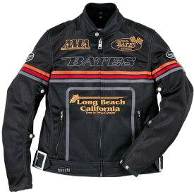 ベイツ BATES 春夏 2Wayメッシュジャケット 黒/レインボー XXLサイズ BJ-M1812RS JP店