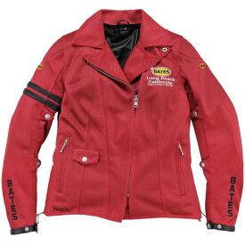 ベイツ BATES 春夏 2Way メッシュジャケット レディース用 赤 Mサイズ BJL-M1832ST JP店