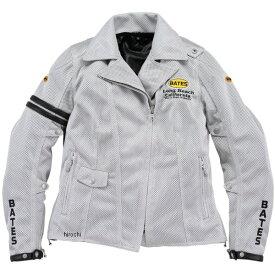 ベイツ BATES 春夏 2Way メッシュジャケット レディース用 シルバー Lサイズ BJL-M1832ST JP店