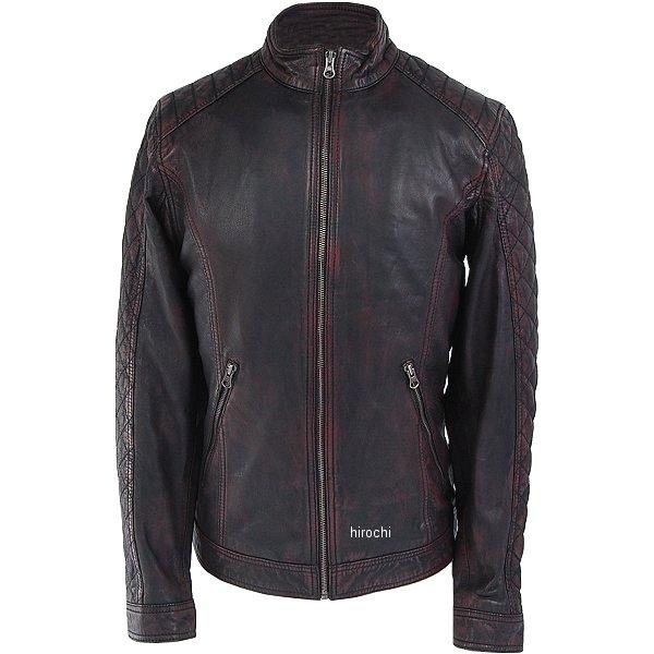 ライズ RIDEZ レザージャケット DEUCE ラディッシュブラック Lサイズ RLJ300-L JP店