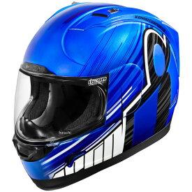 【USA在庫あり】 アイコン ICON フルフェイスヘルメット Alliance OverLord 青 3XLサイズ(65cm-66cm) 0101-10706 JP店