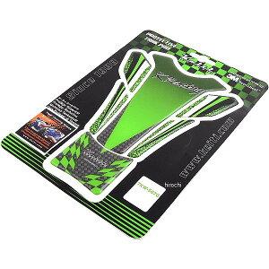 【メーカー在庫あり】 ケイティ Keiti タンクパッド カワサキ K Racing ライムグリーン TKW507G JP店