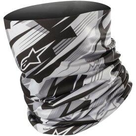 アルパインスターズ Alpinestars 秋冬モデル ネックウォーマー BLURRED NECK TUBE 黒/アンスラサイト フリーサイズ 8033637210704 JP店