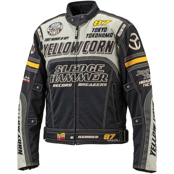イエローコーン YeLLOW CORN 2018年秋冬モデル ウインタージャケット アイボリー/黒 LLサイズ BB-8307 JP店