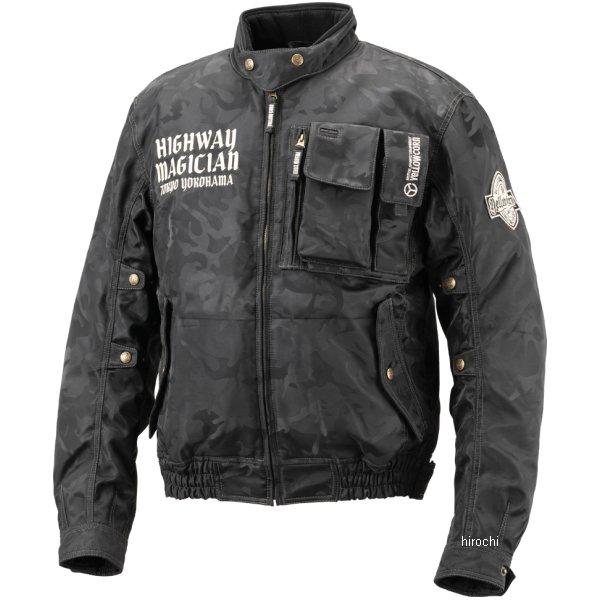 イエローコーン YeLLOW CORN 2018年秋冬モデル ウインタージャケット ブラックカモ 3LWサイズ YB-8300 JP店