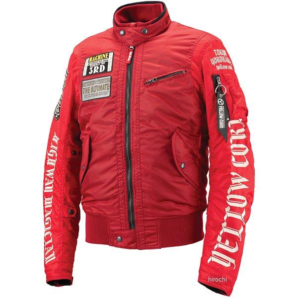 イエローコーン YeLLOW CORN 2018年秋冬モデル ウインタージャケット 赤 Sサイズ YB-8302 JP店