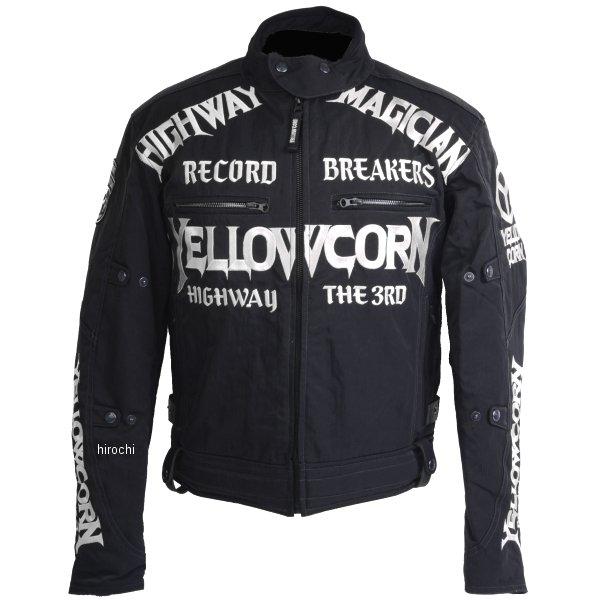 【即納】 イエローコーン YeLLOW CORN 2018年秋冬モデル ウインタージャケット 黒/アイボリー Mサイズ YB-8305 JP店