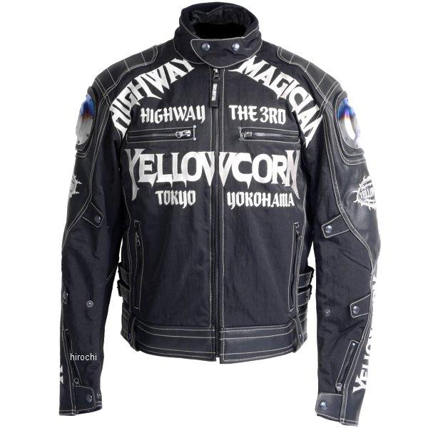 イエローコーン YeLLOW CORN 2018年秋冬モデル チタニウムウインタージャケット 黒/アイボリー 3Lサイズ YB-8309 JP店