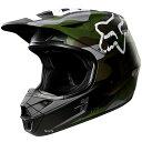 【メーカー在庫あり】 MX18 フォックス FOX オフロードヘルメット V1 カモ Sサイズ (55cm-56cm) 20760-031-S JP店