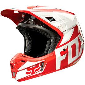 【メーカー在庫あり】 フォックス FOX オフロードヘルメット V2 レース 赤 Lサイズ (59cm-60cm) 11080-003-L JP店