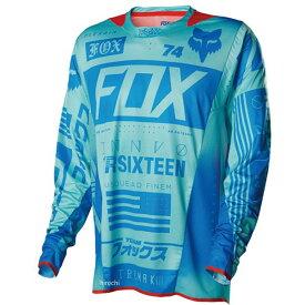 【メーカー在庫あり】 フォックス FOX ジャージ フレックスエアー ユニオン アクア XLサイズ 15486-246-XL JP店
