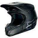 【メーカー在庫あり】 MX18 フォックス FOX オフロードヘルメット V1 マットブラック 黒 XLサイズ (61cm-62cm) 15310-…