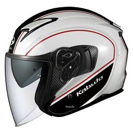 【メーカー在庫あり】 オージーケーカブト OGK KABUT ジェットヘルメット EXCEED DELIE ホワイトブラック XLサイズ 4966094577100 JP店