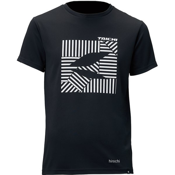 RSタイチ 2019年春夏モデル Tシャツ クールライド ドライTシャツ ダイスブラック Mサイズ RSU310BK02M JP店