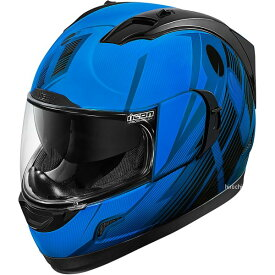 【USA在庫あり】 アイコン ICON フルフェイスヘルメット Alliance GT Primary 青 2Xサイズ 0101-8991 JP店