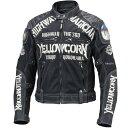 イエローコーン YeLLOW CORN 2019年春夏モデル メッシュジャケット 黒/アイボリー 3LWサイズ YB-9109 JP店