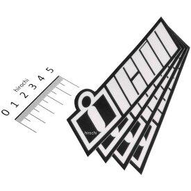 【USA在庫あり】 アイコン ICON デカール DOUBLE UP 4枚 白 4320-1550 JP店