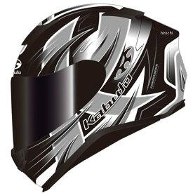 オージーケーカブト OGK KABUTO フルフェイスヘルメット AEROBLADE-5 HURRICANE フラットブラックシルバー XSサイズ 4966094586775 JP店