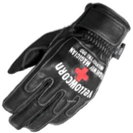 イエローコーン YeLLOW CORN 春夏モデル レザーグローブ 黒 LLサイズ G-2001 JP店