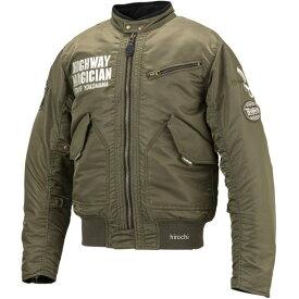 イエローコーン YeLLOW CORN 2019年秋冬モデル ウインターMA-1 シングルジャケット カーキ LLサイズ YB-9302 JP店