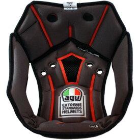 【メーカー在庫あり】 エージーブイ AGV トップパッド スポーツモジュラー アジアフィット 黒 XLサイズ KIT1203399901 JP店