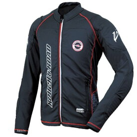 ラフ&ロード 2020年春夏モデル アーマージャケット パッドセット スラント 黒 XLサイズ RR7550PSSL-BK5 JP店
