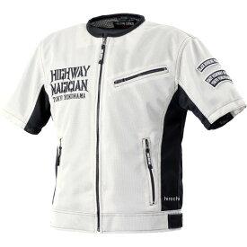 イエローコーン YeLLOW CORN 2020年春夏モデル プロテクティブメッシュTシャツ アイボリー/黒 LLサイズ YMT-002 JP店
