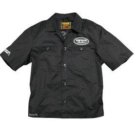 バンソン VANSON 2020年春夏モデル ワークシャツ 黒/白 Lサイズ VS20108S JP店