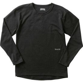 ゴールドウイン GOLDWIN 2021年秋冬モデル KDヘビーウエイトシャツ 黒 BLサイズ GSM24058 JP店