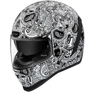 アイコン ICON 2020年秋冬モデル フルフェイスヘルメット AIRFORM CHANTILLY 白 Mサイズ 0101-13415 JP店
