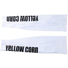 イエローコーン YeLLOW CORN 2021年春夏モデル プロテクトアームシェード 白 フリーサイズ YAS-001 JP店