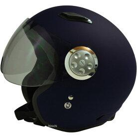 【メーカー在庫あり】 スプーン SPOON ヘルメット パイロット マットネイビー フリー (58cm-60cm)サイズ (ショートシールド) SPJ-9101S JP店