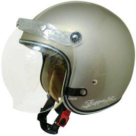 【メーカー在庫あり】 ダムトラックス DAMMTRAX ヘルメット フラッパー JET NEXT 女性用 パールグレー/ベージュ レディースサイズ(57cm-58cm) 4580184000141 JP店