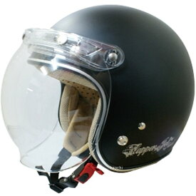 【メーカー在庫あり】 ダムトラックス DAMMTRAX ヘルメット フラッパー JET NEXT 女性用 黒(つや消し) レディースサイズ(57cm-58cm) 4580184000165 JP店