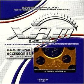 ザム XAM ミニチュア スプロケット リアルクオリティ ゴールド 10個売り A0001-G JP店