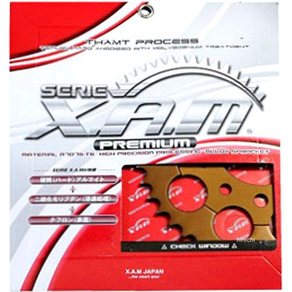 ザム XAM リア スプロケット プレミアム 520/39T 80年以降 DR、RM、KLX アルミ ハードアルマイト A4301X39 JP店